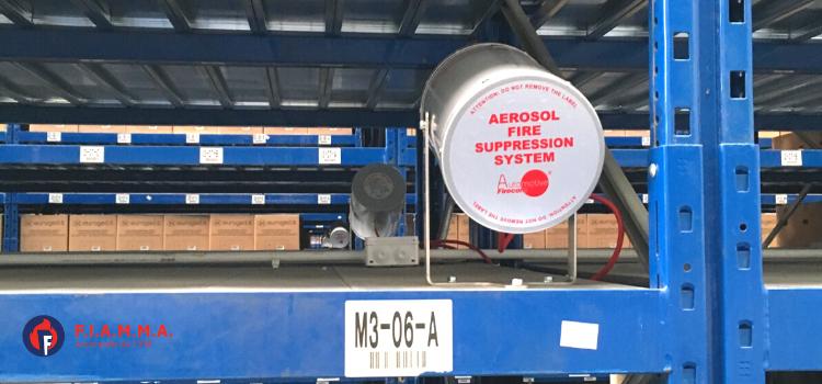 antincendio aerosol