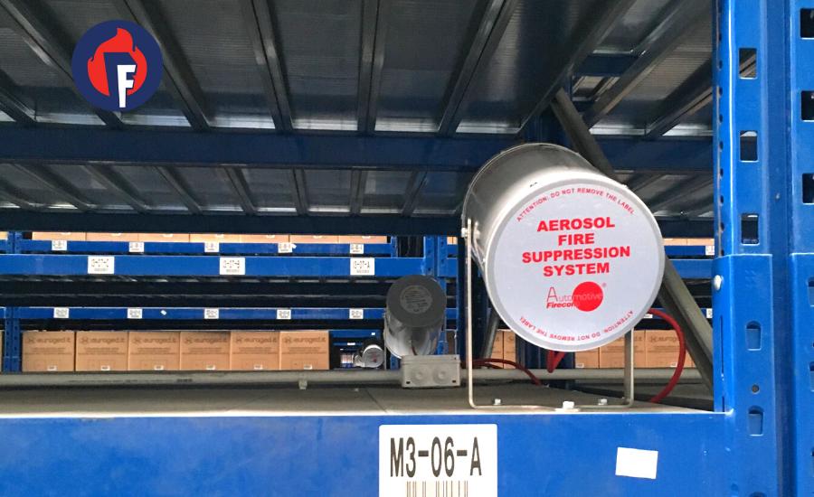impianto aerosol antincendio